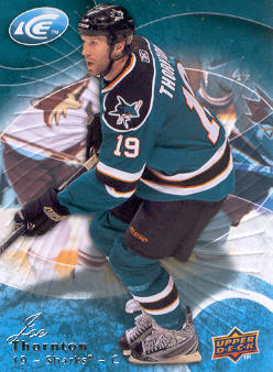 2009-10 Upper Deck Ice #53 Joe Thornton