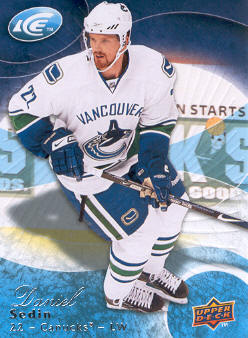 2009-10 Upper Deck Ice #63 Daniel Sedin