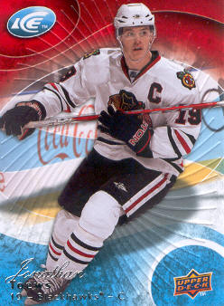 2009-10 Upper Deck Ice #66 Jonathan Toews