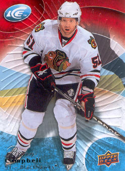 2009-10 Upper Deck Ice #67 Brian Campbell