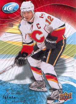 2009-10 Upper Deck Ice #69 Jarome Iginla