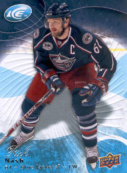 2009-10 Upper Deck Ice #76 Rick Nash