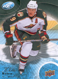2009-10 Upper Deck Ice #82 Mikko Koivu