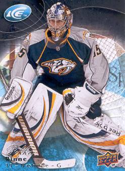 2009-10 Upper Deck Ice #86 Pekka Rinne