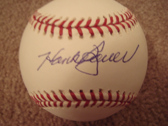 Hank Bauer Autographed MLB Baseball With COA
