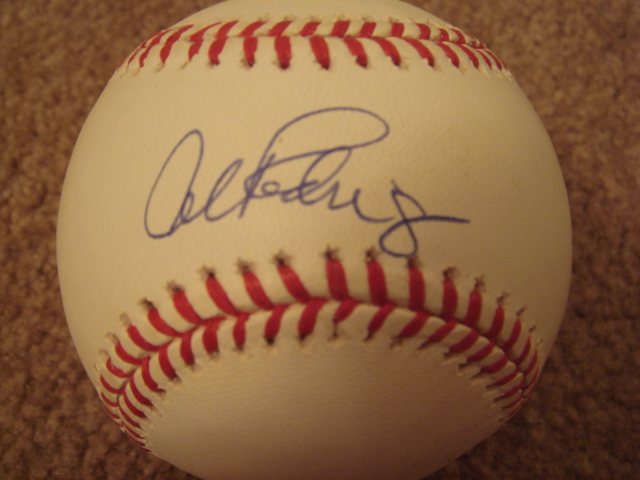 Alex Rodriguez Autographed Official AL Baseball With COA