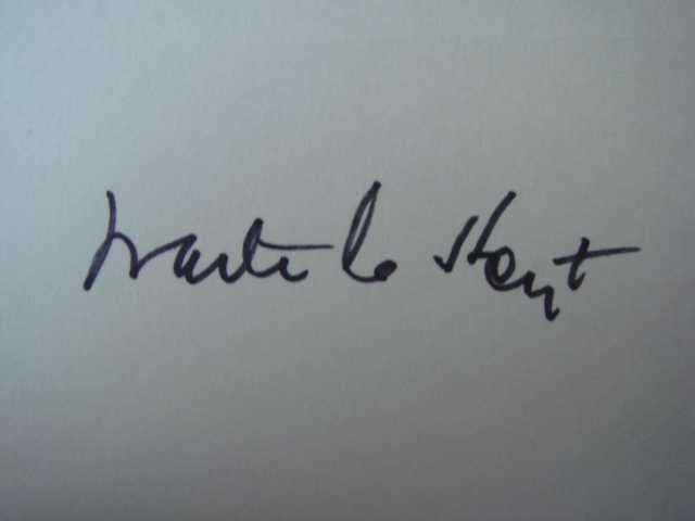 Waite Hoyt Autographed 3 X 5 Card With COA