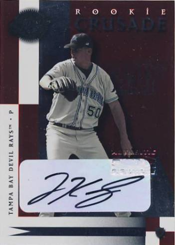 2001 Donruss Class of 2001 Crusade Autographs #C41 Joe Kennedy/200