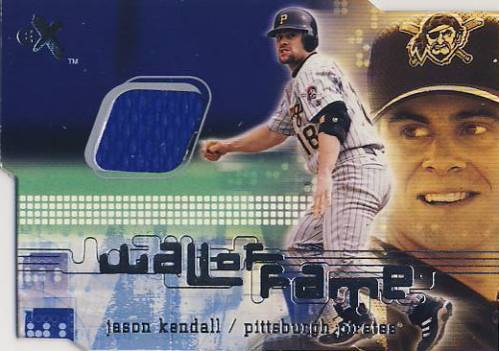 2001 E-X Wall of Fame #17 Jason Kendall