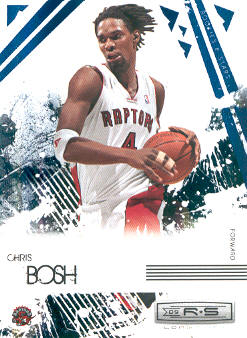 2009-10 Rookies and Stars Longevity Sapphire #90 Chris Bosh
