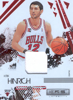 2009-10 Rookies and Stars Longevity Materials Ruby #13 Kirk Hinrich/250