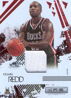 2009-10 Rookies and Stars Longevity Materials Ruby #51 Michael Redd/250