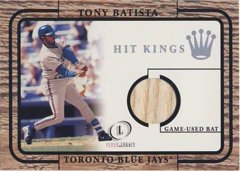 2001 Fleer Legacy Hit Kings #2 Tony Batista