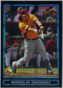 2009 Bowman Chrome Draft WBC Prospects X-Fractors #BDPW27 Magglio Ordonez