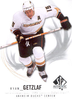 2009-10 SP Authentic #13 Ryan Getzlaf
