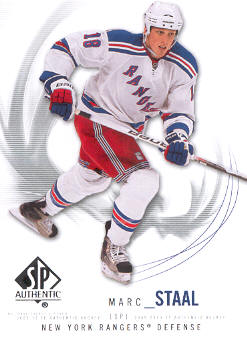 2009-10 SP Authentic #35 Marc Staal