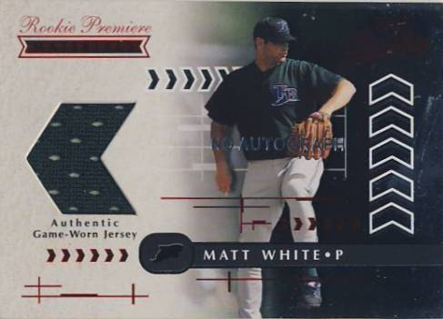 2001 Absolute Memorabilia #200 Matt White RPM