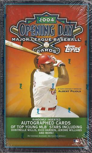2004 Topps Opening Day Baseball Unopened Box (36 Packs)