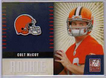 2010 Donruss Elite Rookie NFL Team Logo #7 Colt McCoy