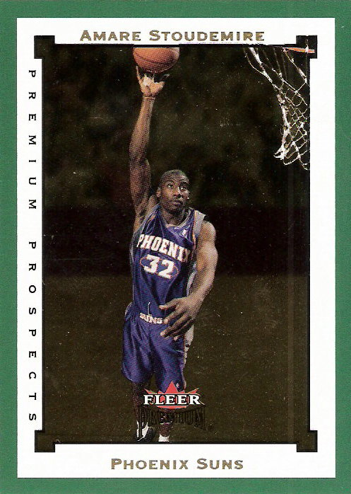 2002-03 Fleer Premium Emerald #119 Amare Stoudemire