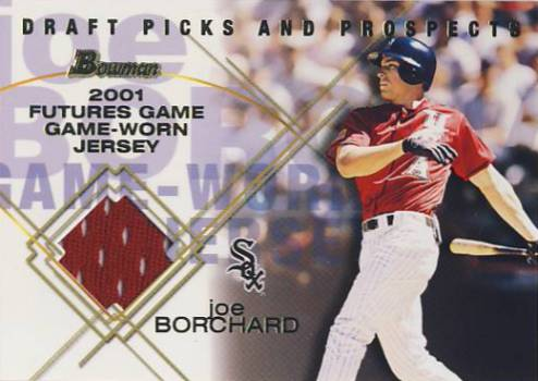 2001 Bowman Draft Futures Game Relics #FGRJB Joe Borchard