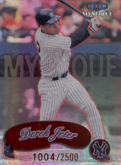 1999 Fleer Mystique #159 Derek Jeter STAR