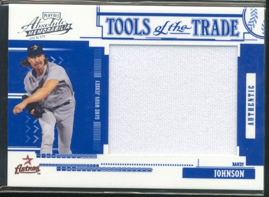 2005 Absolute Memorabilia Tools of the Trade Swatch Single Jumbo Reverse #166 R.John Astros Jsy/150