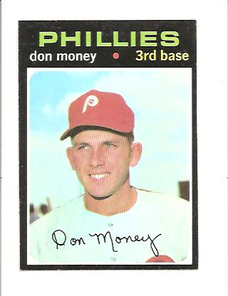 1971 Topps #49 Don Money