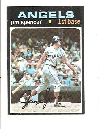 1971 Topps #78 Jim Spencer