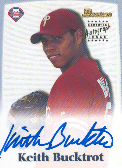 2000 Bowman Draft Autographs #BDPA51 Keith Bucktrot