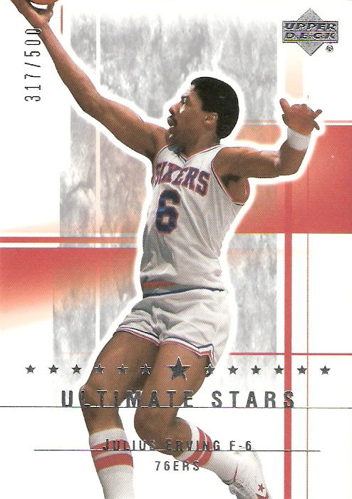 2003-04 Ultimate Collection #183 Julius Erving US