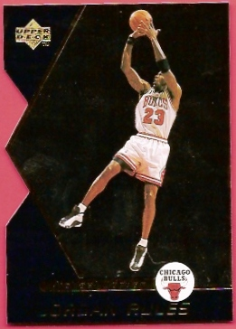 1998-99 Upper Deck Ovation Jordan Rules #J14 Michael Jordan