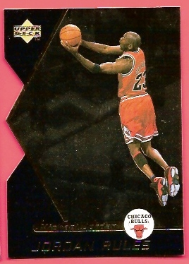1998-99 Upper Deck Ovation Jordan Rules #J15 Michael Jordan