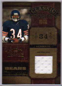 2004 Donruss Classics Classic Materials #C30 Walter Payton