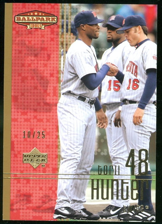 2002 Upper Deck Ballpark Idols Gold #77 Torii Hunter
