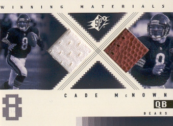 2000 SPx Winning Materials #WMCM Cade McNown