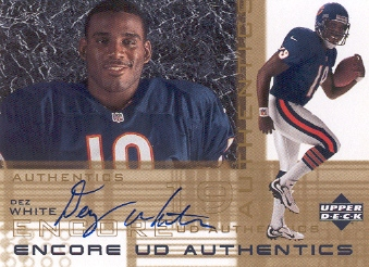 2000 Upper Deck Encore UD Authentics #DW Dez White
