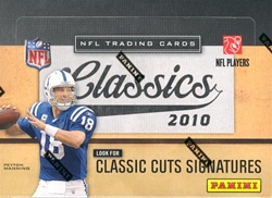 2010 Panini Classics NFL Football Sports Trading Cards Hobby Box