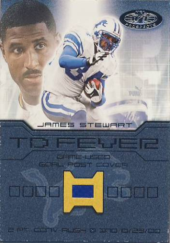 2001 Hot Prospects TD Fever #13 James Stewart