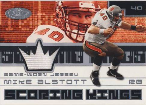 2001 Hot Prospects Scoring King Jerseys #3 Mike Alstott