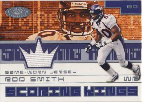 2001 Hot Prospects Scoring King Jerseys #43 Rod Smith