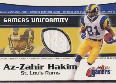 2000 Fleer Gamers Uniformity #16 Az-Zahir Hakim