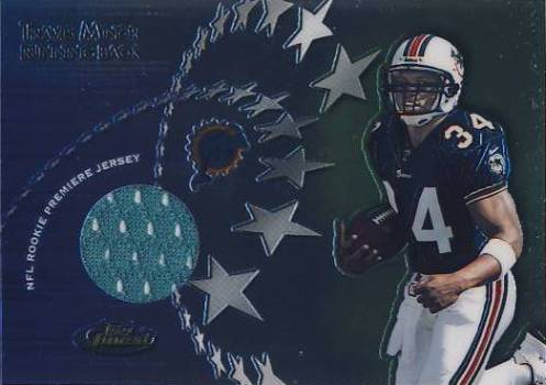 2001 Finest Rookie Premiere Jerseys #RPJTM Travis Minor C