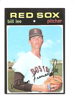 1971 Topps #58 Bill Lee