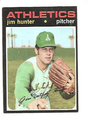 1971 Topps #45 Jim Hunter