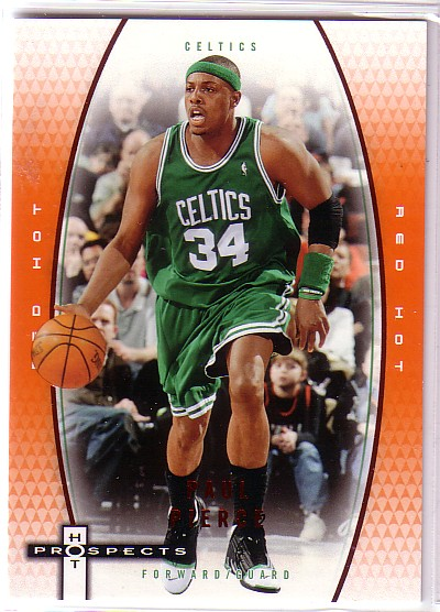 2006-07 Fleer Hot Prospects Red Hot #4 Paul Pierce