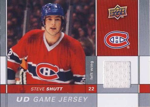 2009-10 Upper Deck Game Jerseys #GJSS Steve Shutt