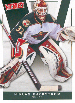 2010-11 Upper Deck Victory #91 Niklas Backstrom