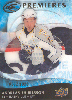2009-10 Upper Deck Ice #103 Andreas Thuresson RC