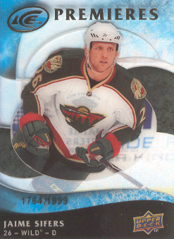 2009-10 Upper Deck Ice #105 Jaime Sifers RC